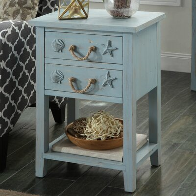 Emig End Table with Storage