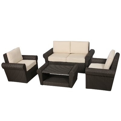 Coleman Village 4 Piece Deep Seating Group