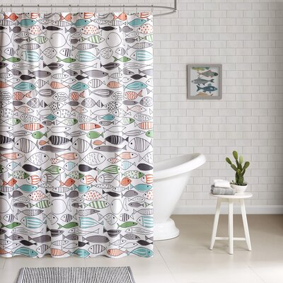 Albany Cotton Printed Shower Curtain