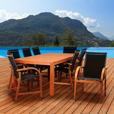 Hillsford 9 Piece Dining Set