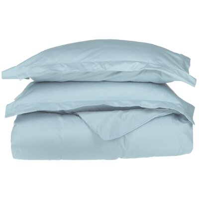 Campfield Duvet Cover Set Color: Light Blue, Size: Twin/Twin Extra Large