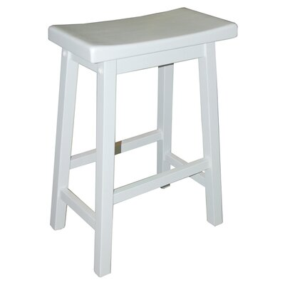 Kirkwood 30 Bar Stool Finish: White