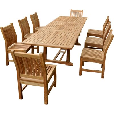 Farnam 9 Piece Rectangular Dining Set