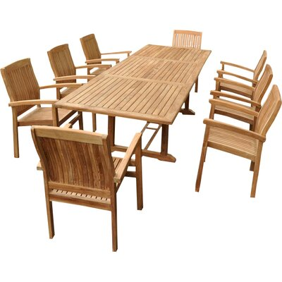 Farnam 9 Piece Dining Set