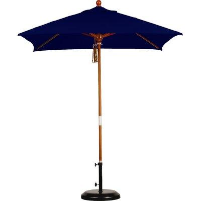 6 Overmoor Square Market Umbrella Fabric: Sunbrella A Navy