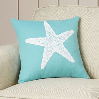 Winchester Cotton Throw Pillow Color: Aqua