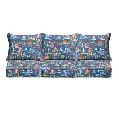 Ponce Pillow and Cushion 6 Piece Sofa Cushion
