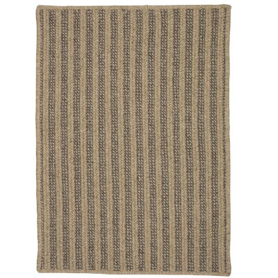 Carruthers Hand-Woven Beige Area Rug Rug Size: 8 x 10