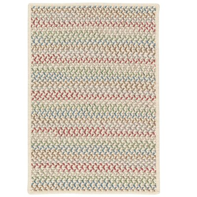 Arvie Hand-Woven Red/Green Area Rug Rug Size: 2 x 4