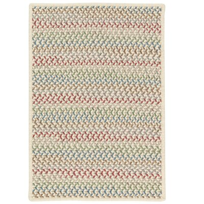 Arvie Hand-Woven Red/Green Area Rug Rug Size: 7 x 9