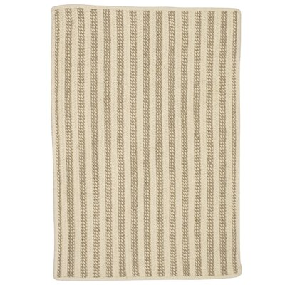 Cadenville Hand-Woven Natural Area Rug Rug Size: Rectangle 5 x 7