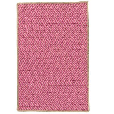 Mammari Hand-Woven Pink Indoor/Outdoor Area Rug Rug Size: 8 x 11