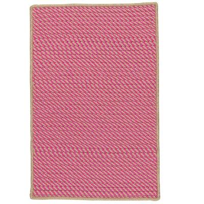 Russell Hand-Woven Pink Indoor/Outdoor Area Rug Rug Size: 12 x 15