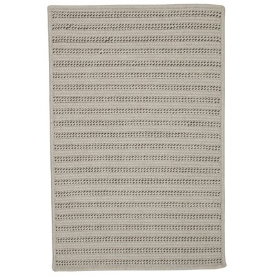 Tidewater Reversible Hand-Woven Natural Area Rug Rug Size: 5 x 7