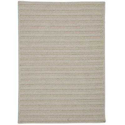 Tidewater Water Resistant Hand-Woven Natural Area Rug Rug Size: 6 x 9