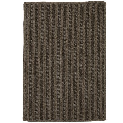Carruthers Hand-Woven Brown Area Rug Rug Size: 8 x 10