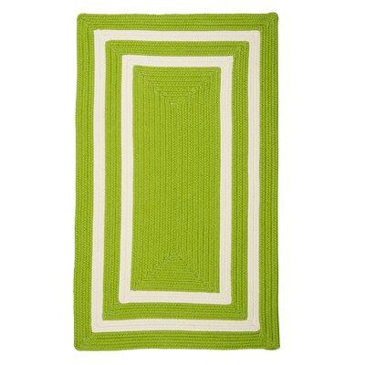 Keats Hand-Woven Outdoor Green Area Rug Rug Size: 7 x 9