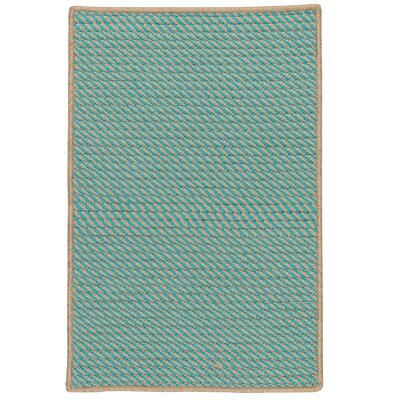 Mammari Hand-Woven Blue Indoor/Outdoor Area Rug Rug Size: 4 x 6
