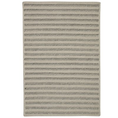 Tidewater Striped Hand-Woven Natural Area Rug Rug Size: 5 x 7