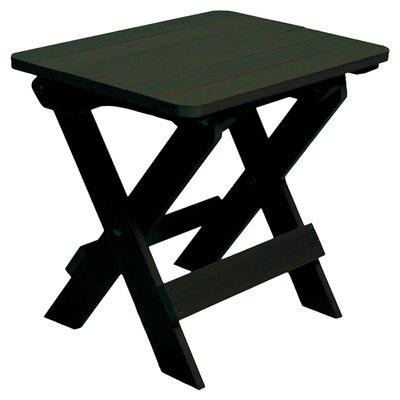 Albion Folding Adirondack Side Table Finish: Charleston Green