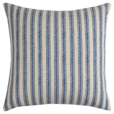 DeSoto Pillow Cover with Hidden Zipper Color: Natural Blue