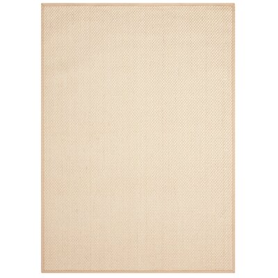 Moira�Ivory Area Rug Rug Size: 23 x 39