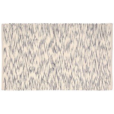 Hutchison Black/Cream Area Rug Rug Size: 2 x 3