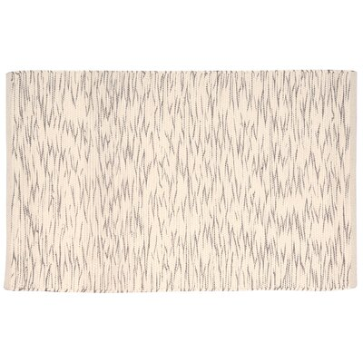 Astley Cream/Brown Area Rug Rug Size: 2 x 3