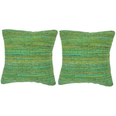 Blaisdell Throw Pillow Color: Glorious Green