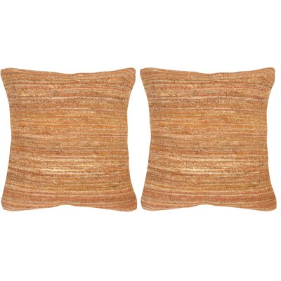Blaisdell Throw Pillow Color: Creamy Cocoa