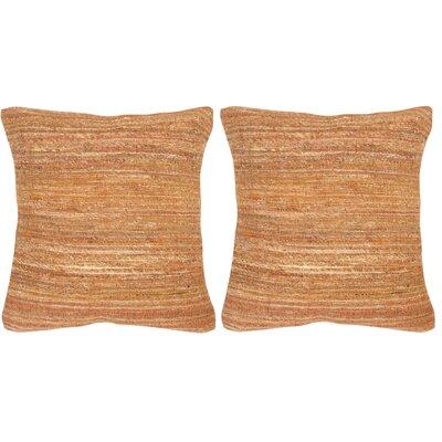 Banbury Throw Pillow Color: Creamy Cocoa