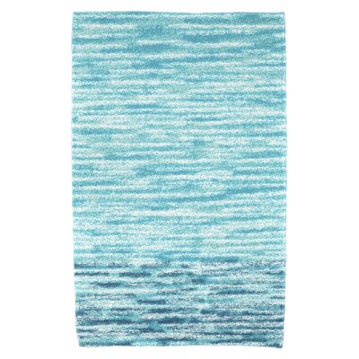Striped Beach Towel Color: Teal