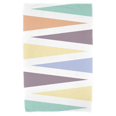 Bowman Backgammon Beach Towel Color: Lavender