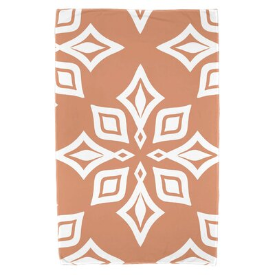 Antioch Beach Star Beach Towel Color: Coral