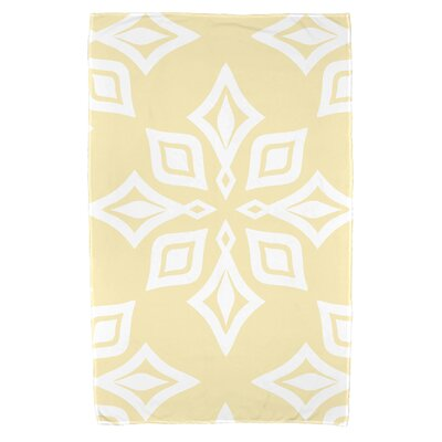 Antioch Beach Star Beach Towel Color: Yellow