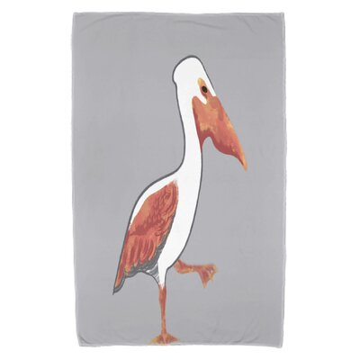 Pelican March Beach Towel Color: Gray