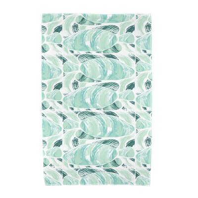Cedarville Fishwich Beach Towel Color: Teal