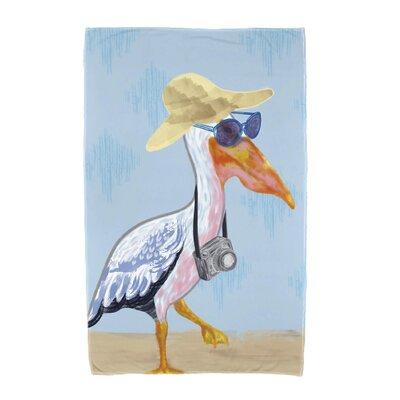 Taylor Creek Beach Towel Color: Blue