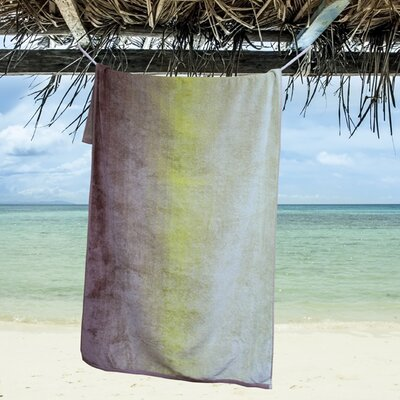 Valleywood Oversized Dyed Beach Towel Color: Sand Dunes