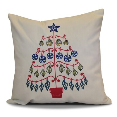 Decorative Holiday Geometric Print Throw Pillow Size: 26 H x 26 W, Color: Pink