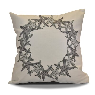 Decorative Holiday Geometric Print Throw Pillow Size: 26 H x 26 W, Color: Gray