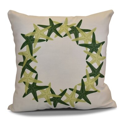 Huong Decorative Holiday Geometric Print Throw Pillow Size: 16 H x 16 W, Color: Green