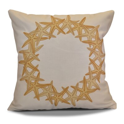 Decorative Holiday Geometric Print Throw Pillow Size: 20 H x 20 W, Color: Gold