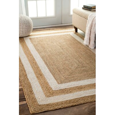 Dorsey Natural Area Rug Rug Size: Rectangle 76 x 96