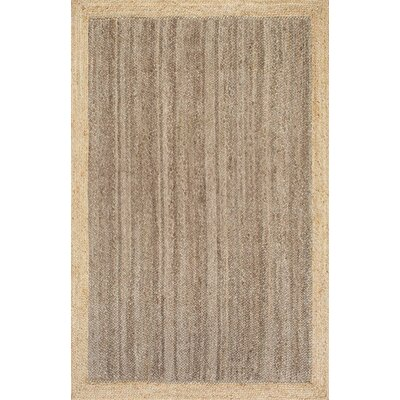 Benham Gray Area Rug Rug Size: 8 x 10