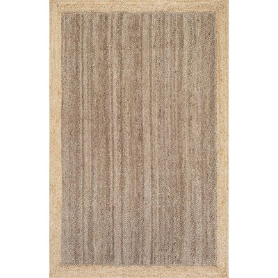 Benham Gray Area Rug Rug Size: 3 x 5