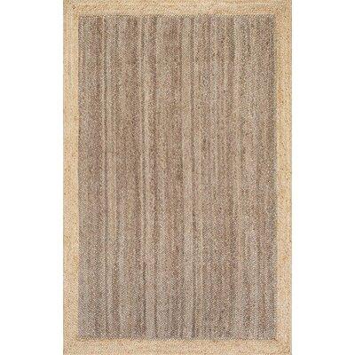 Benham Gray Area Rug Rug Size: 4 x 6