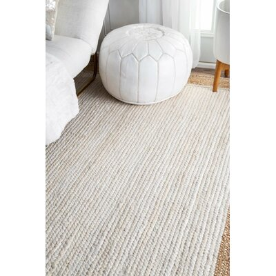 Westbury White Area Rug Rug Size: Rectangle 9 x 12
