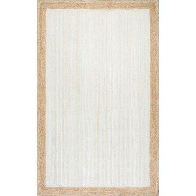 Westbury White Area Rug Rug Size: 5 x 8