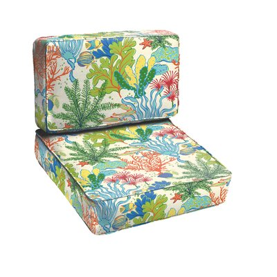 Bronson 2 Piece Outdoor Chair Cushion Set